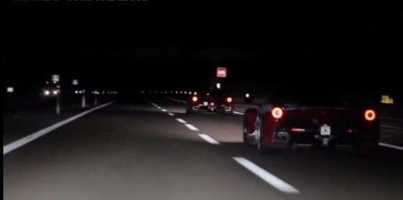 Ferrari LaFerrari autobahn