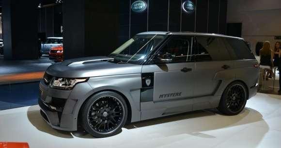 Range Rover Hamann Frankfurt