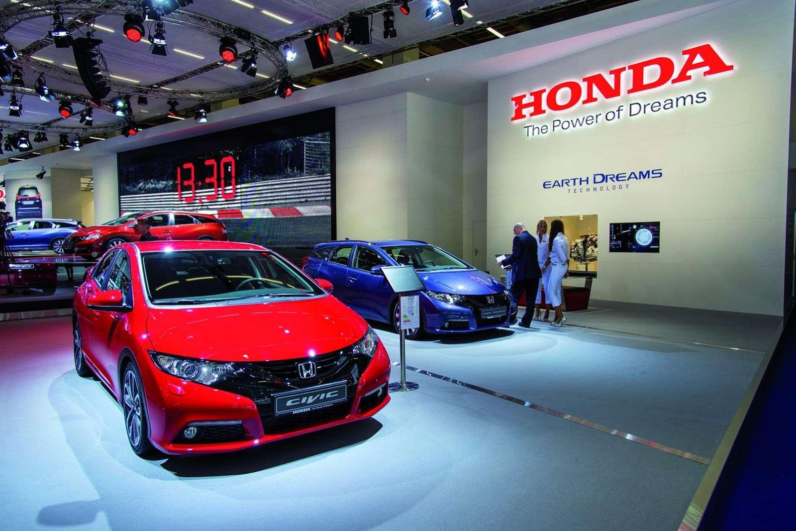 Honda Civic Tourer Frankfurt 2013