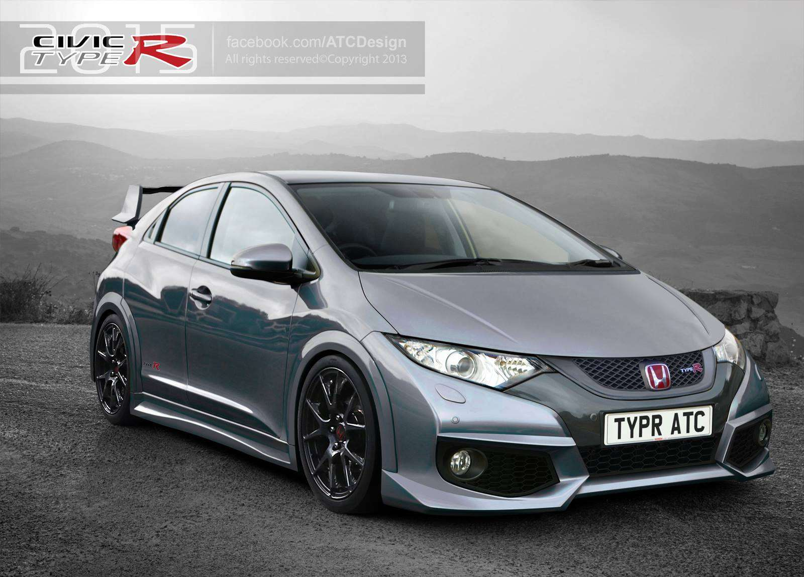 Honda Civic Type-R 2015 renderings
