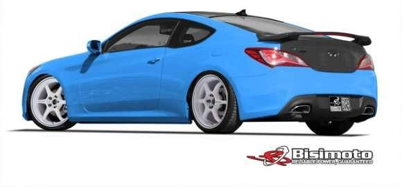 Hyundai Genesis Coupe rear