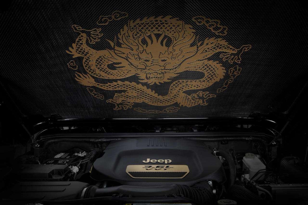 Jeep Wrangler Dragon Edition 2014