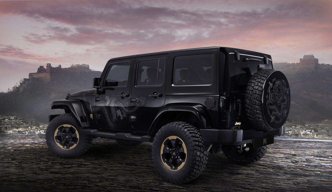 Jeep Wrangler Dragon Edition 2014