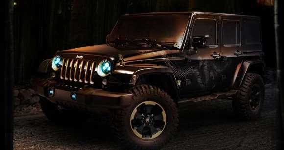 Jeep Wrangler specjalna edycja