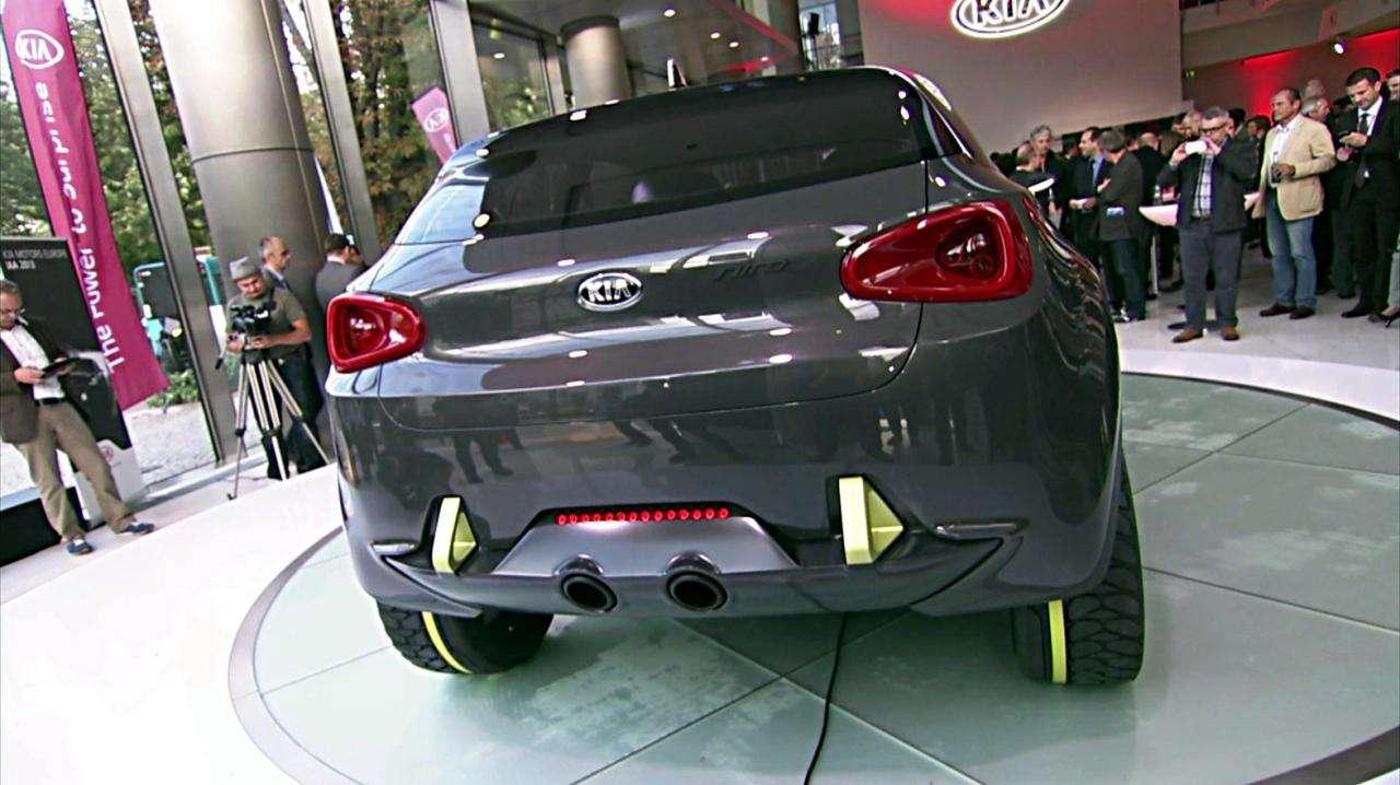 Kia Niro Concept live Frankfurt motor show