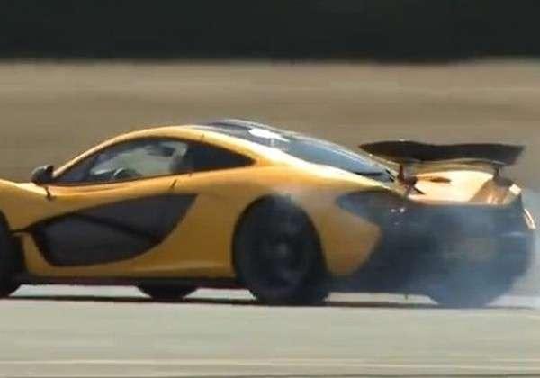 McLaren P1 Jay Leno