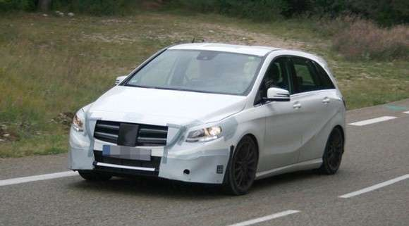 Mercedes klasy B 2015 Facelift