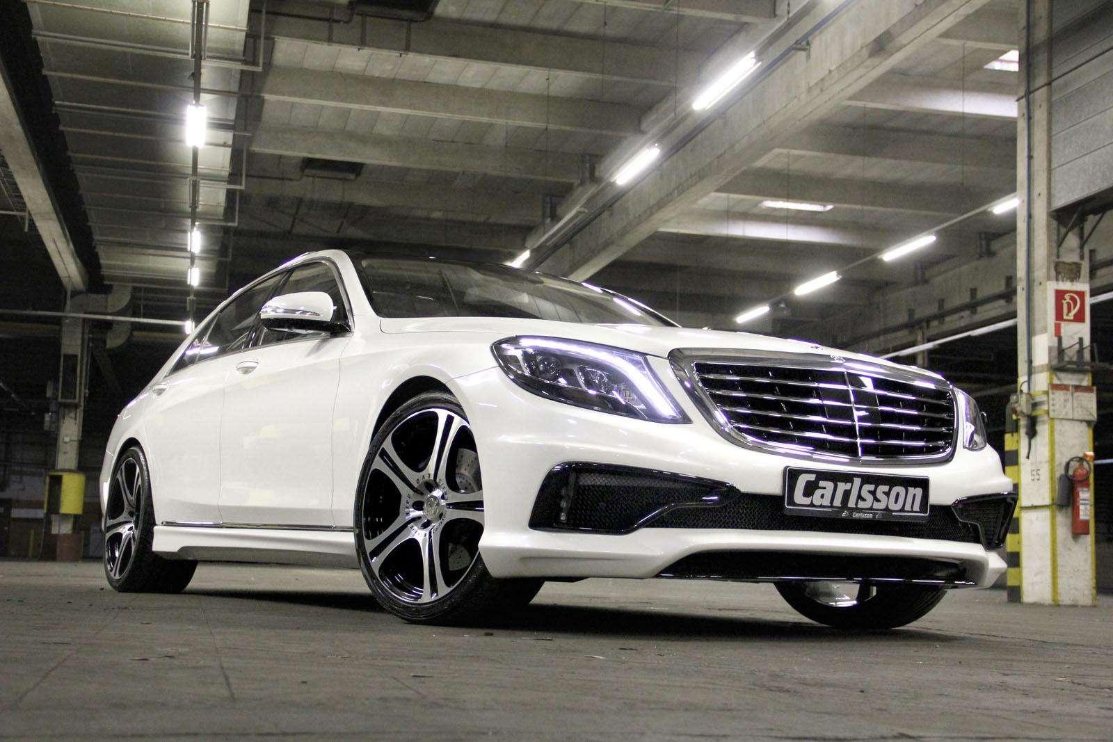 Mercedes s klasa by carlsson tuning motofilm for Mercedes benz tagline