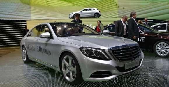 MercedesS500 Plug-In Hybrid Frankfurt 2013