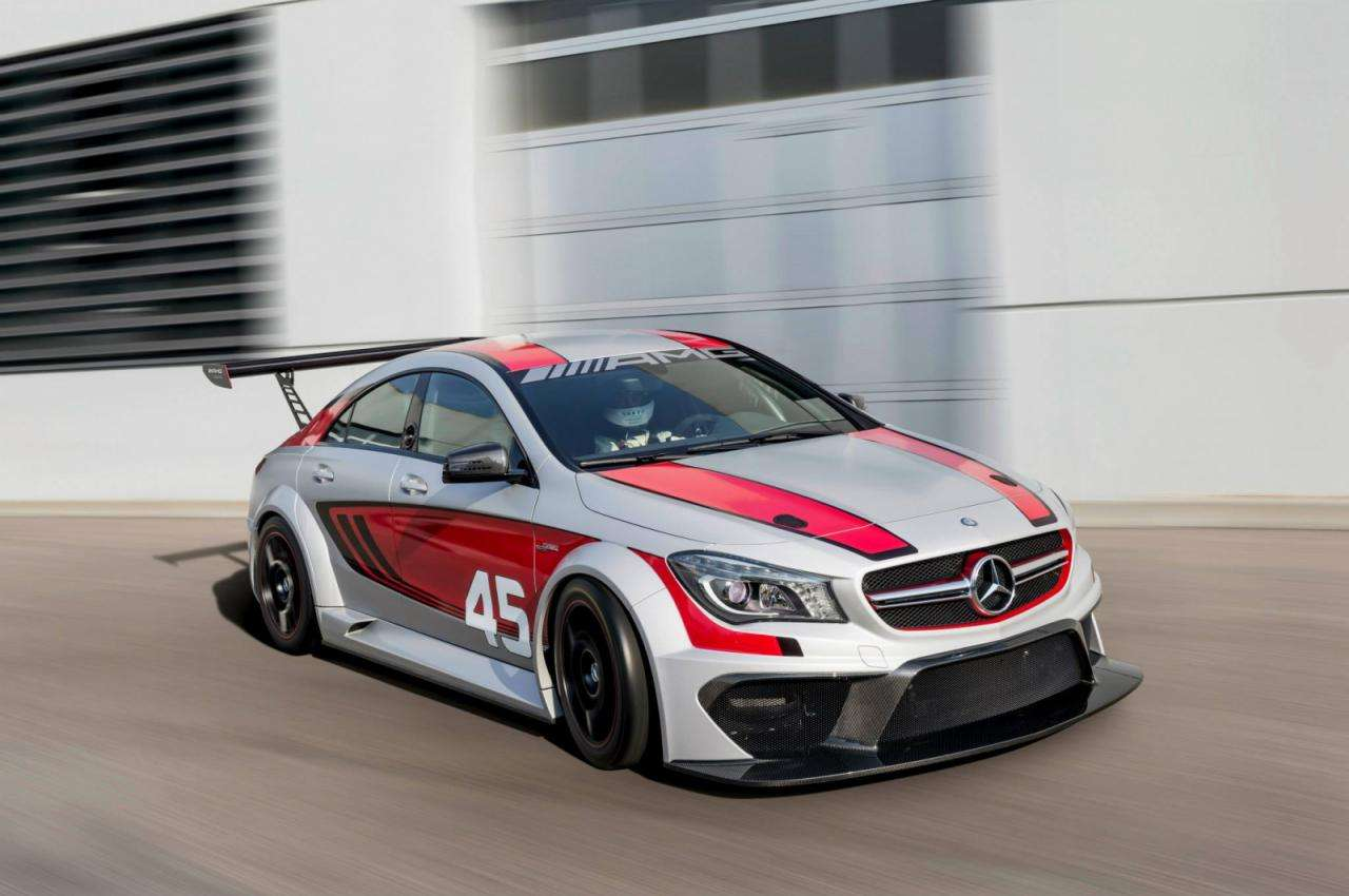 Mercedes CLA 45 AMG Racing Series
