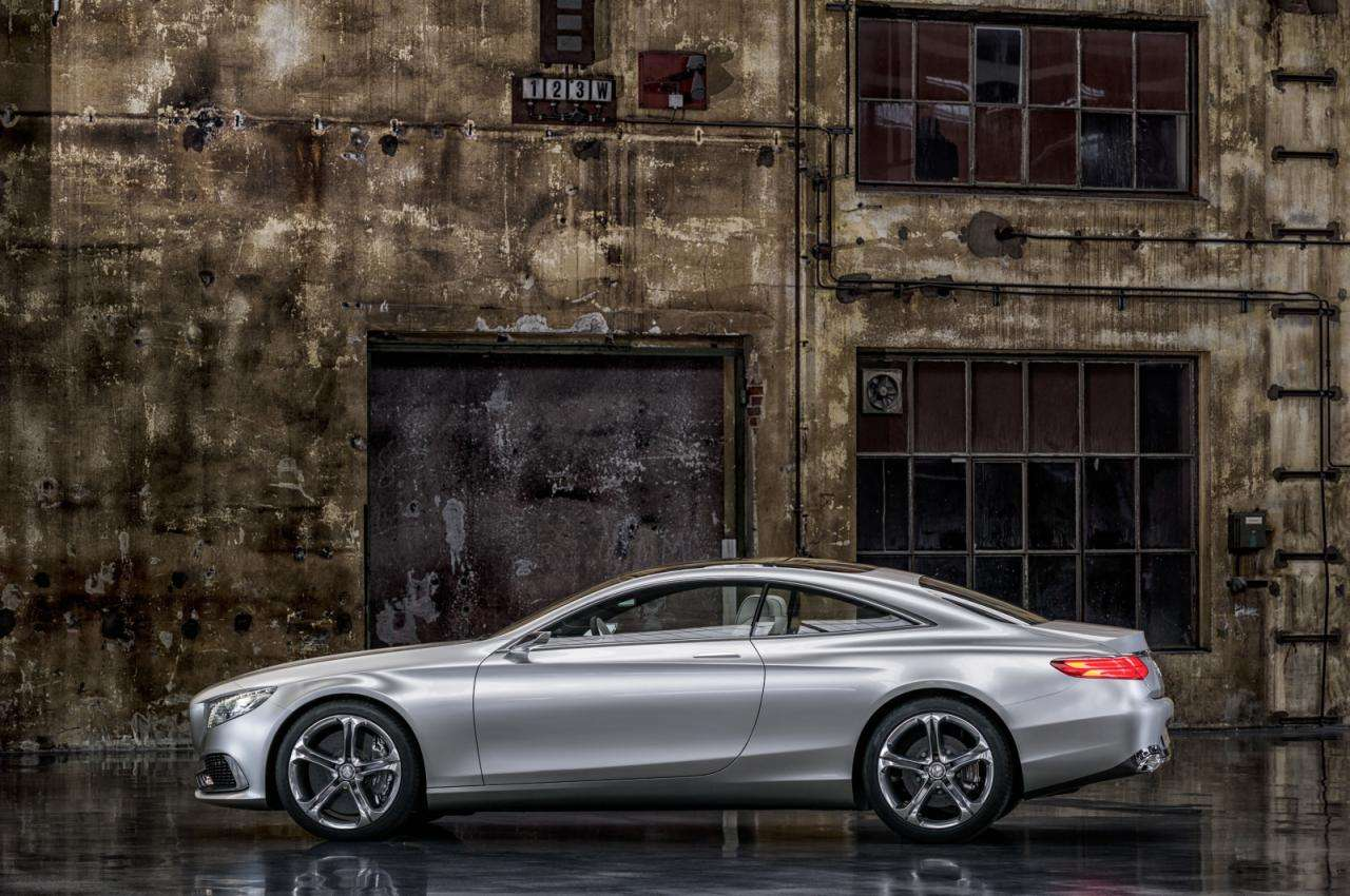 Mercedes S Concept Coupe