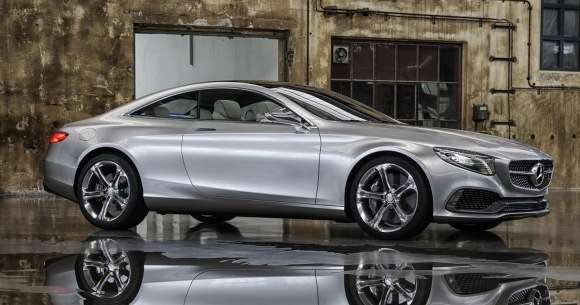 Mercedes S Coupe Concept