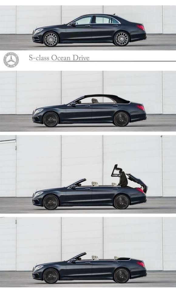 Mercedes S-classe cabrio