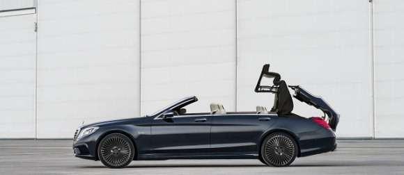 Mercedes S 2014 W222 Convertible cabrio render