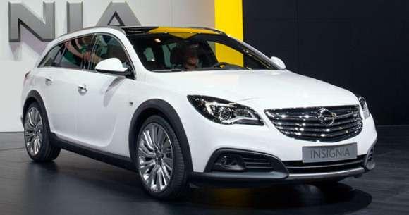 Opel Insignia facelift Frankfurt