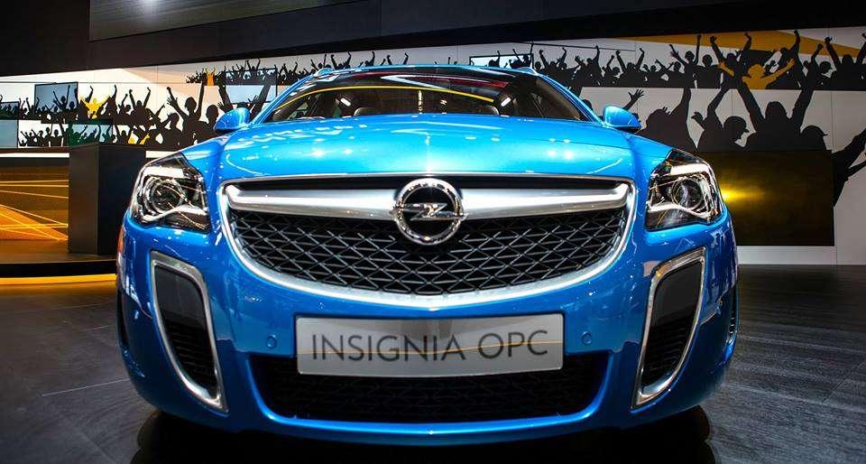 Opel Insignia OPC Frankfurt 2013