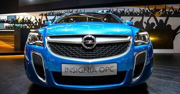 Opel Insignia OPC 2013 Frankfurt