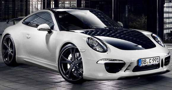 Porsche 911 Carrera 4 tuning