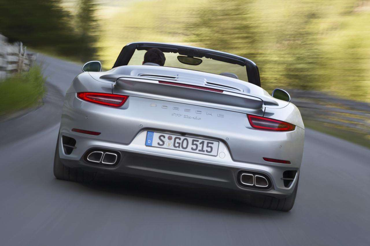 Porsche 911 Turbo Cabriolet 2014