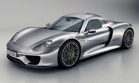 Porsche 918 Coupe render theophiluschin.com