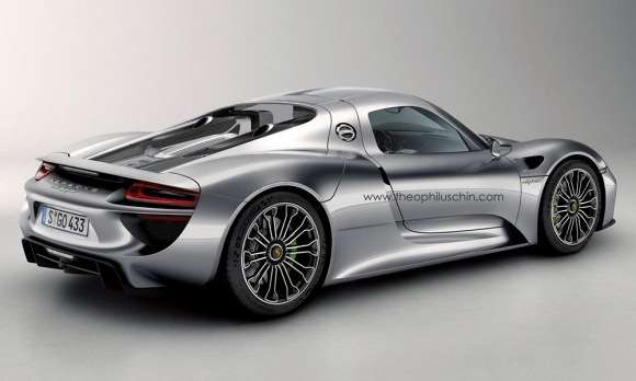 Porsche 918 Coupe rendering theo