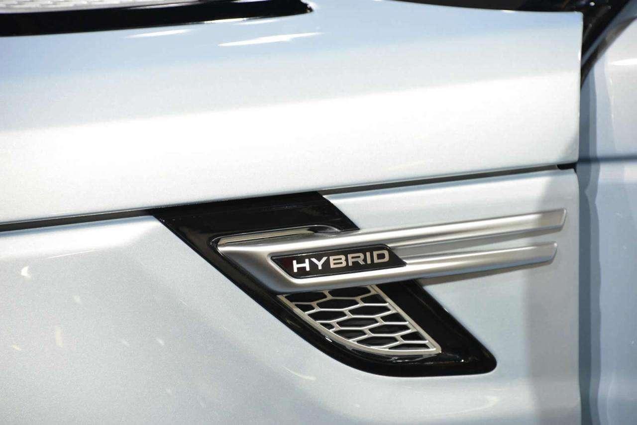 Range Rover Sport Hybrid Frankfurt 2013