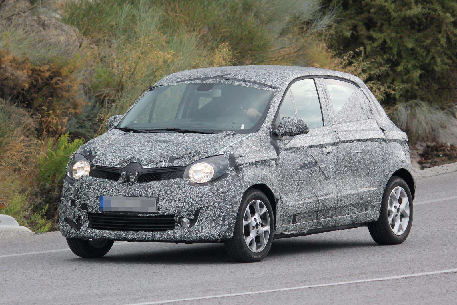 Renault Twingo 2015 Spy Photos