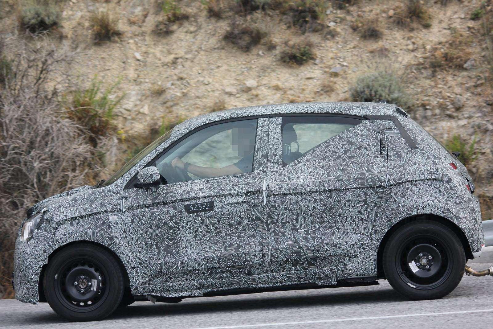 Renault Twingo 2015 Spy Photos