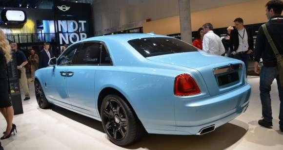 Rolls Royce Frankfurt 2013