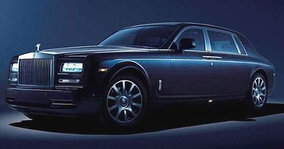 Rolls Royce Phantom specjalna edycja