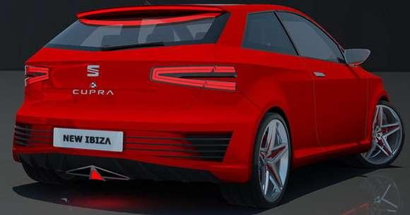 Seat Ibiza Cupra rendering