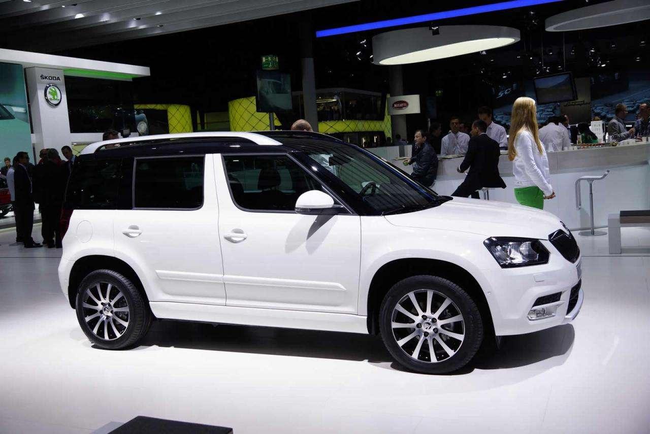 Skoda Yeti 2013 facelift Frankfurt