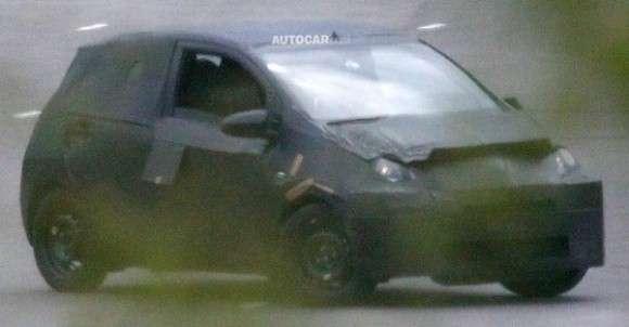 Nowa Toyota Aygo szpiegowskie