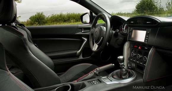Toyota GT86 wnętrze interior
