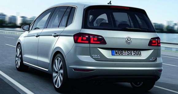 Volkswagen Golf Sportsvan tył