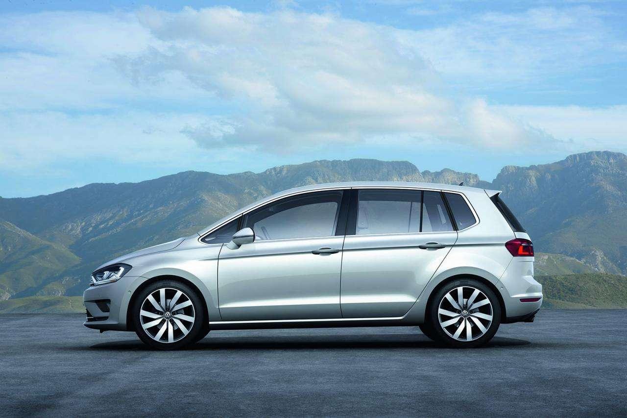 Volkswagen Golf Sportsvan concept frankfurt 2013