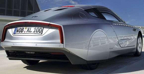 Volkswagen XL1 rear tył