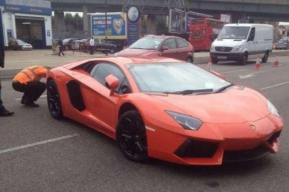 Lamborghini Aventador skonfiskowane