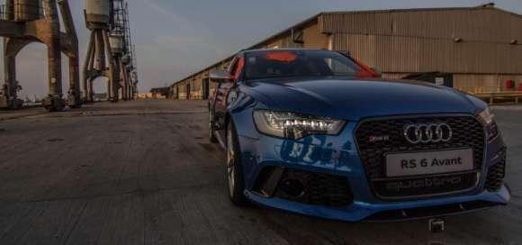 Audi RS6 Avant parkour