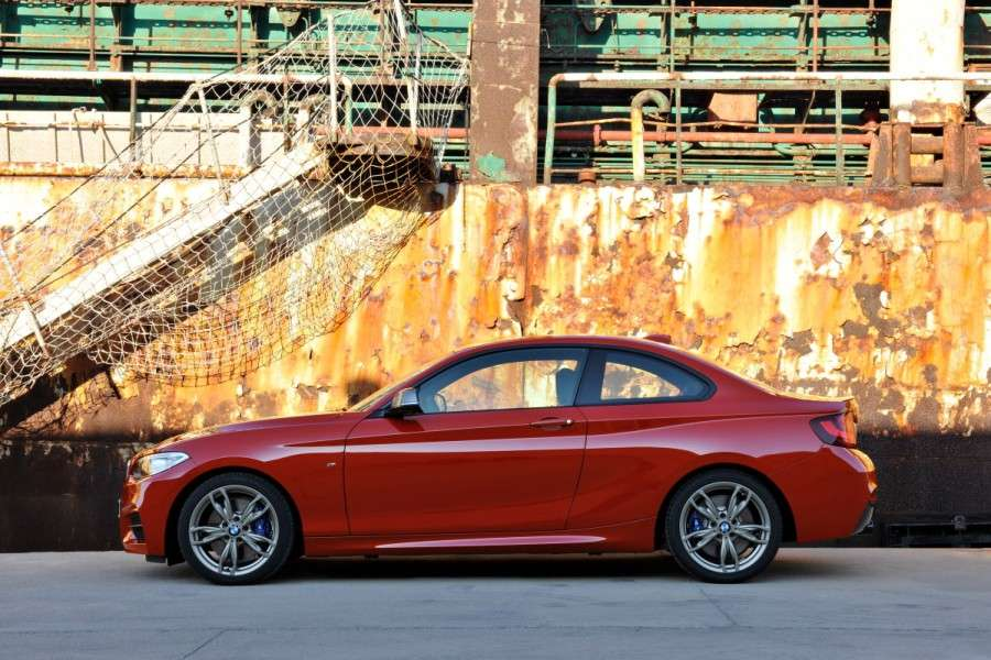 BMW M235i Coupe leaked official photos