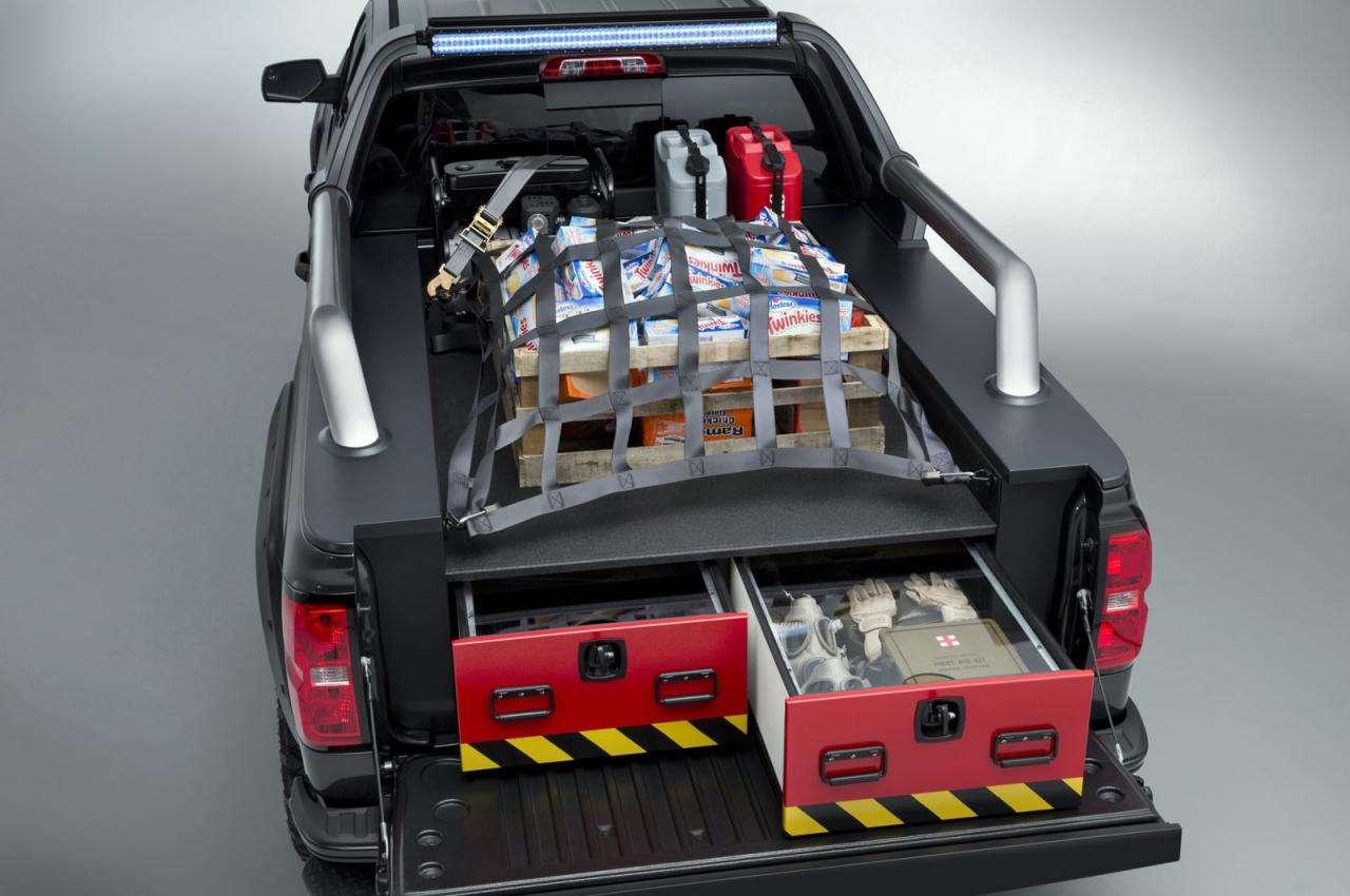 Chevrolet Silverado Black Ops i Z71 Volunteer Firefighter