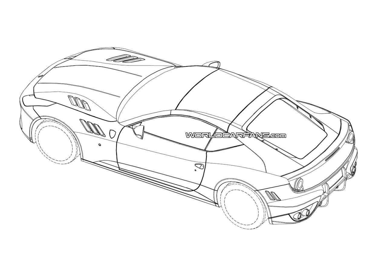 Ferrari FF Fastback Coupe [rendering]