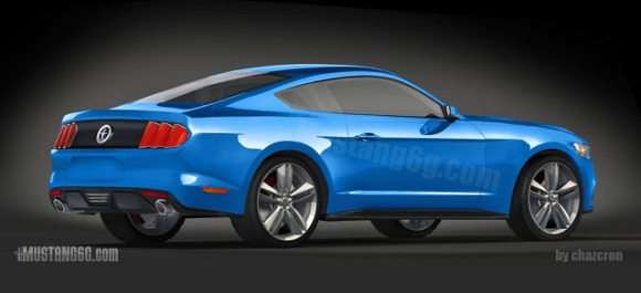 Ford Mustang 2015 rendering