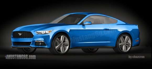 Ford Mustang 2015 render