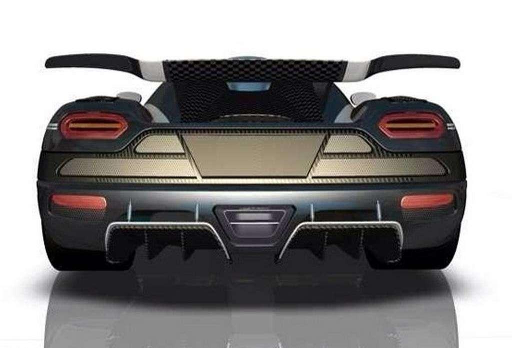Koenigsegg One:1 rendering