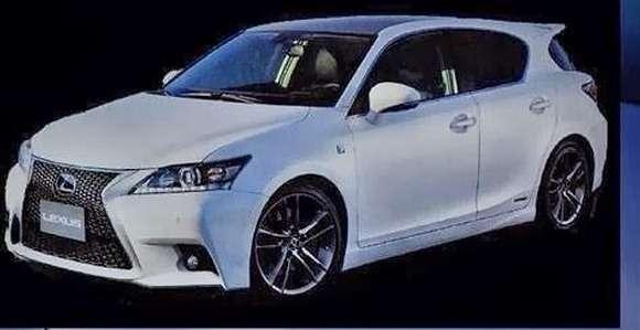 Lexus CT200h facelift leaked
