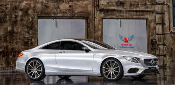 Mercedes S Coupe 2014 render