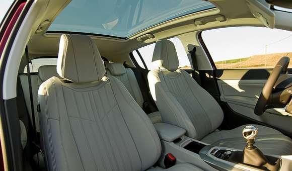 Peugeot 308 fotele