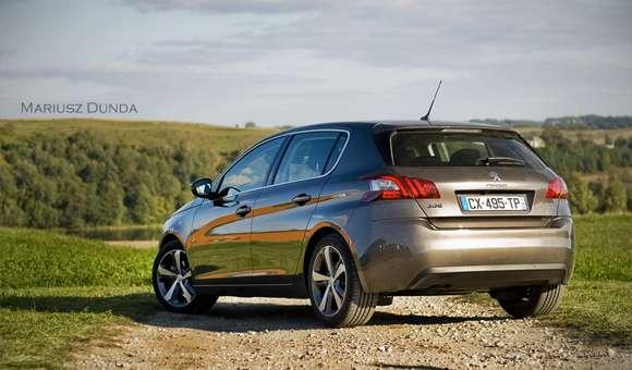 Nowy Peugeot 308 tył