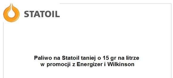 Statoil promocja